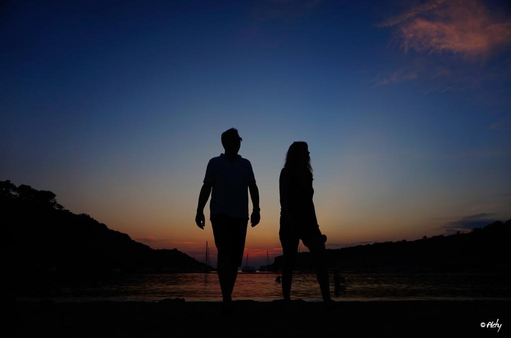 couple plage Ibiza 1